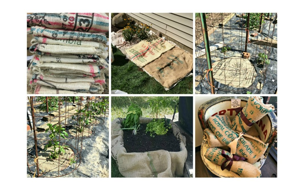 How to Garden with Burlap
